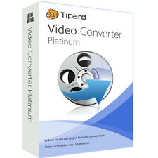 Video Converter Platinum Tipard deutsch Vollversion 1 Jahr Lizenz  ESD Download