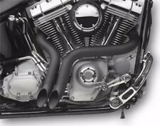 """EXHAUST """"Y"""" DRAG PIPES HARLEY SOFTAIL FXS BLACKLINE FXSB BREAKOUT 2012-2016"""