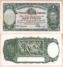 1949 1 Pound King George Commonwealth of Australia Vf. Renniks R31