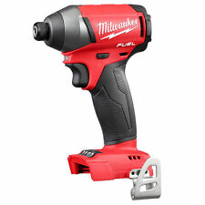 "Milwaukee 2653-20 M18 FUEL 18V Li-Ion Brushless 1/4"" Hex Cordless Impact Driver"