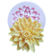 Silicone 3D MIni Cute Flower Fondant Cake Chocolate Sugarcraft Mould Mold Tool