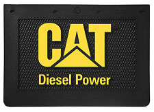 "Caterpillar CAT Diesel Power 20"" x 14"" Semi Truck Mud Flaps/Splash Guards-Pair"