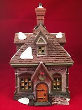 Dept 56 Dickens Village Series WM. Wheat Cakes & Puddings #58084 Retired