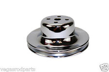 Chrome Water Pump Pulley Ford mustang falcon 289 single 1 groove 1968 -1966