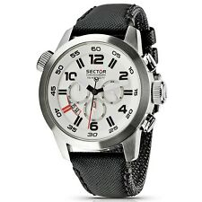 OROLOGIO SECTOR UOMO OVERSIZE WHITE GENT WATCH R3271702045 (P.List. Eur 199)