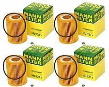 4 OEM Mercedes-Benz Dodge Oil Filter HU821x MANN-FILTER Sprinter 2500,3500,GL,ML