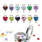 10 pcs Of Each Month - Birthstone Floating Charms Locket For Living Memory HOT