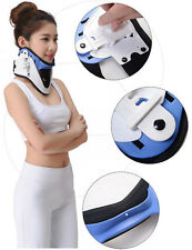 Adjustable Cervical traction Collar Neck head Brace Anatomical Support ergonomic