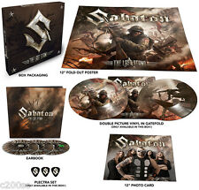 SABATON - THE LAST STAND, LTD EDN PICTURE DISC 2LP + 2CD + DVD + POSTER BOX SET
