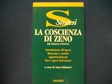ITALO SVEVO-LA COSCIENZA DI ZENO-SINTESI-AVALLARDI 2002 PRIMA EDIZIONE NUOVO!!