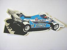 ADESIVO AUTO F1 anni '80 /Old Sticker Vintage LIGIER TALBOT LAFFITE (cm 18x7)
