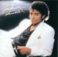 MICHAEL JACKSON - THRILLER MUSIC CD EPIC EK 38112 1982