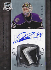 07-08 The Cup Jonathan Bernier Auto Jersey Patch Rookie Card RC #128 121/249