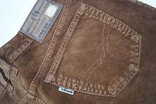 Harlem Walker JOKER Herren Men Freizeit Cord Hose Jeans 36/30 W36 L30 braun #z
