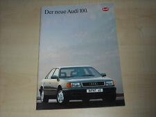 50892) Audi 100 Prospekt 12/1990