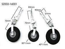 Alloy Undercarriage Anti-vibration Landing Gear w/wheel 120CLASS For RC Airplan