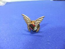 vtg badge winged shield aviation air force lapel  1930s 40s