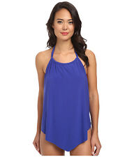 NEW MAGICSUIT MIRACLESUIT TANKINI SWIMSUIT Nicole Sz 12 42 2 PC Blue $150 Retail