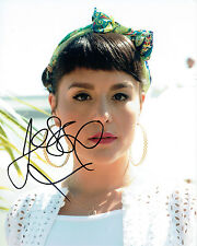 Jessie WARE SIGNED Autograph 10x8 Photo AFTAL COA English Singer