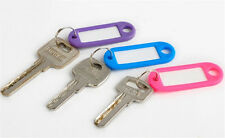 20Pcs Hot Sale Keychain Key Ring Sports Tags Name Card Label Luggage