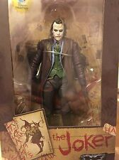 "NECA Exclusive 7"" Dark Knight Heath Ledger JOKER Figure US seller AUTHENTIC NEW"