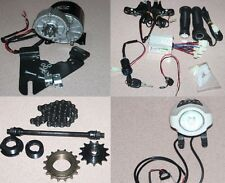 24V 350W DIY Electric Bike Accessories Conversion Kit Geared Brushed Motor EBike