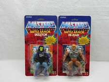 MOTU,Commemorative BATTLE ARMOR HE-MAN & SKELETOR,MOC,sealed,figure,Carded