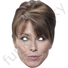 Kay Burley From Sky News Celebrity Card Mask - All Our Masks Are Pre-Cut!