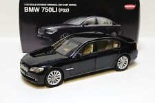 1:18 Kyosho BMW 750Li (F02) black NEW at PREMIUM MODEL CARS