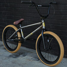 "SALE! 2016 FIT BIKE CO BMX CONWAY 1 GLOSS CLEAR RAW 20"" BIKE SUNDAY CULT HARO"