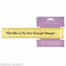 150ft Baby Shower Guess The Mummy's Tummy Size Party Measuring Tape Game