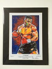 Boxing Mike Tyson Limited Edition of 86 By Patrick J. Killian