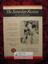 Saturday Review August 1 1936 WALTER EDMONDS SEAN O'FAOLAIN