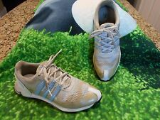 Adidas Powerband 50/50 Protect Golf Shoes White Grey & Blue Size Size 8 M US