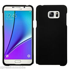 For Samsung Galaxy Note 5 Slim Snap On Hard Skin Protective Case Cover BLACK