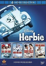 Disney 4-Movie Collection: Herbie  DVD (Love Bug / Herbie.. NEW [TRAILER INSIDE]