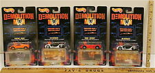 Vintage 1993 Hot Wheels Demolition Man Lot S.A.P.D. Ultralite Salsa Wildcat NOC