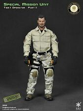 Easy & Simple 1/6 Action Figure SMU Tier-1 26008 Body Head Boots Gloves Uniform