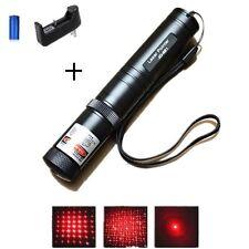 Ultra - Pointeur laser rouge stroboscope 2 en 1-1mw- batterie + chargeur