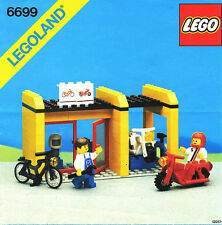 Lego Town 6699 Cycle Fix-It Shop NEW SEALED 1987 LEGOLAND Shops Services HTF