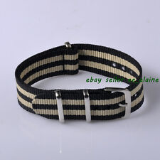 Parnis 18mm Unisex Nylon Watch Strap, Watch Bands for Wrist Watches 1805