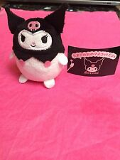 Sanrio Kuromi Egg Shape Plush Doll Mascot - US seller