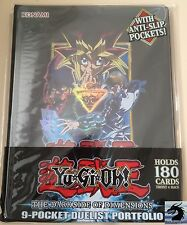 Yu-Gi-Oh! The Dark Side of Dimensions 9 Pocket Duelist Portfolio Holds 180 Cards