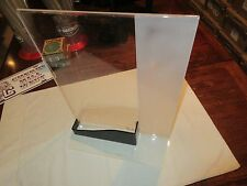 "Sign/Flyer Display Unit , Pamphlet Holder , Plexi Glass , 17""X13"" X8"" , Vintage"