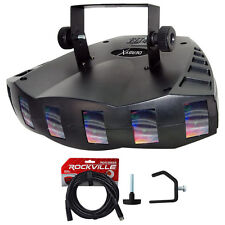 Chauvet DJ DERBY X DMX-512 Multi Colored LED Derby Club Light Effect+Cable+Clamp