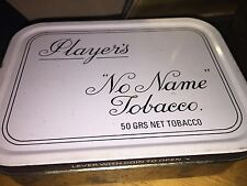 One Players No Name Tobacco Tin 50 Grams Pipe Tobacco Mint Shape Vintage