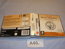 A46. NINTENDO DS More Brain Training Gioco con scatola originale e libretti