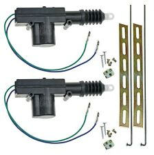 Universal Car Power Door Lock Actuator 12-Volt Motor (2 Pack) New Free Shipping