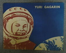 * YURI GAGARIN THE FIRST COSMONAUT * UK POST £3.25* PAPERBACK* 1977 NOVOSI PRESS
