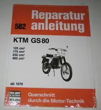 Reparaturanleitung KTM GS 80 - 125 / 175 / 250 / 400 cm³ ab 1979